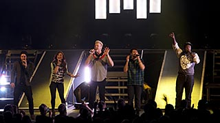 Pentatonix on Tour with the Roland M-200i