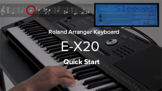 E-X20 Quick Start