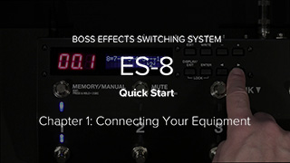 ES-8 Quick Start Video