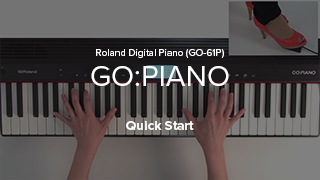 GO:PIANO (GO-61P) Quick Start