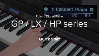 GP/LX/HP series Quick Start