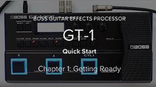 GT-1 Quick Start Video