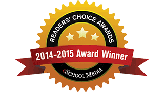 eSchool News 2014-15 Readers' Choice Award