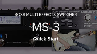 MS-3 Quick Start Video
