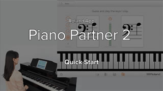 Piano Partner 2 Quick Start