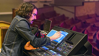 Roland's M-5000 Digital Mixing Console Lets Mixer Nolan Rossi Easily Manage Both the FOH and Monitor Mixes for Andrew Peterson's Behold the Lamb of God Tour