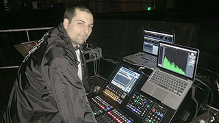 FOH Engineer Tomas Wolfe Chooses Roland M-5000 OHRCA Live Mixing Console for The Neighbourhood and Other Artists