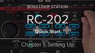 RC-202 Hızlı Başlangıç Videosu