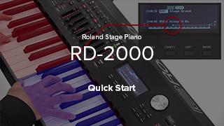 RD-2000 Quick Start