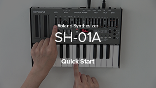 SH-01A Quick Start