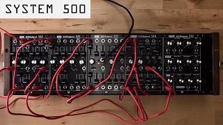 SYSTEM-500 Ses Yamaları Örnekleri