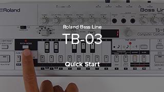 TB-03 Quick Start