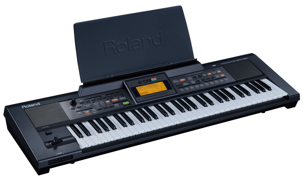 roland india e 09 interactive arranger rh roland co in Roland Arranger Arranger Keyboard Review