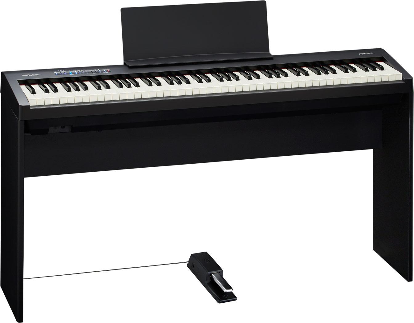 Roland fp 30 digital piano for Piano del magazzino
