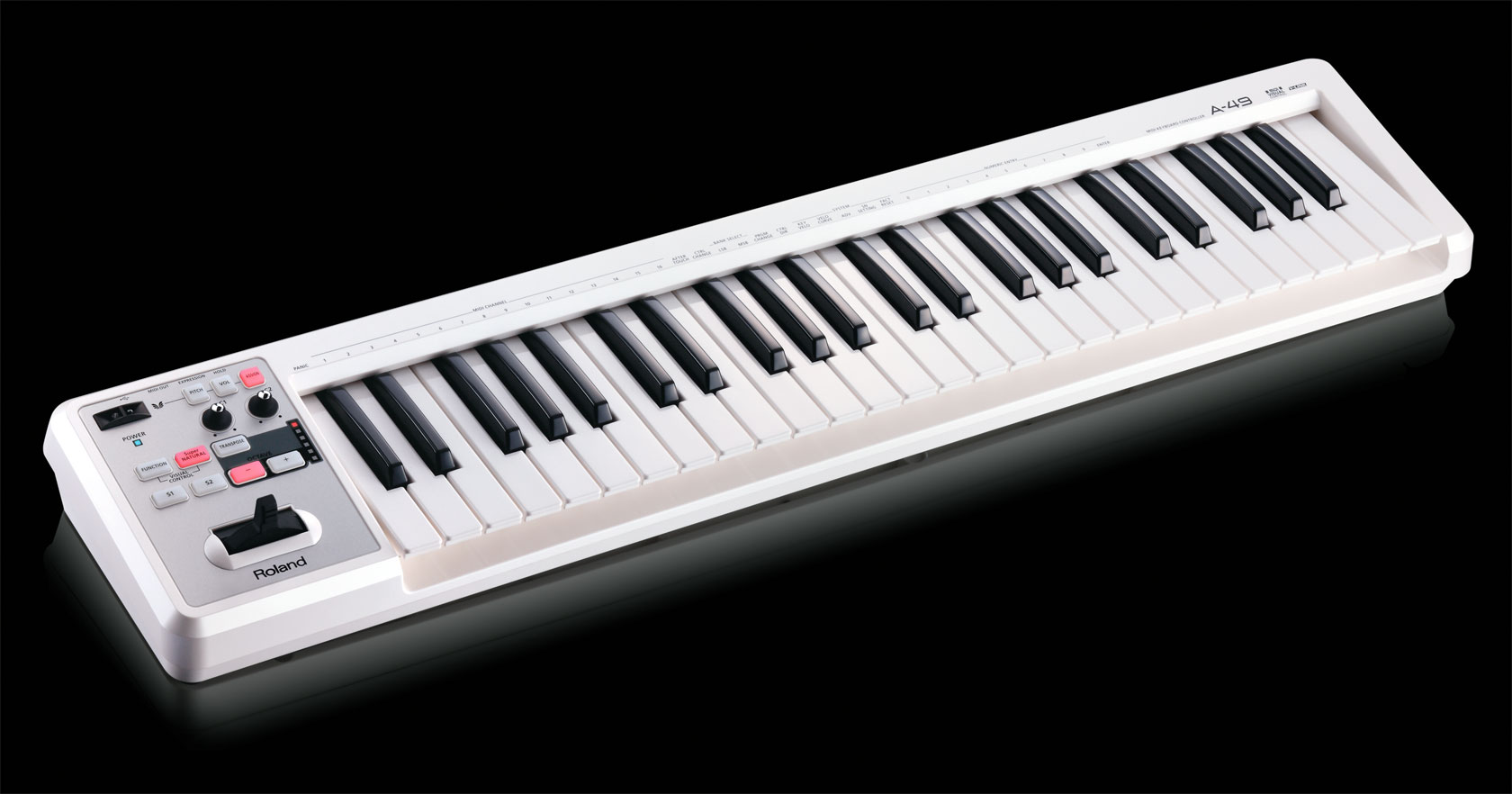 Roland India A 49 Midi Keyboard Controller