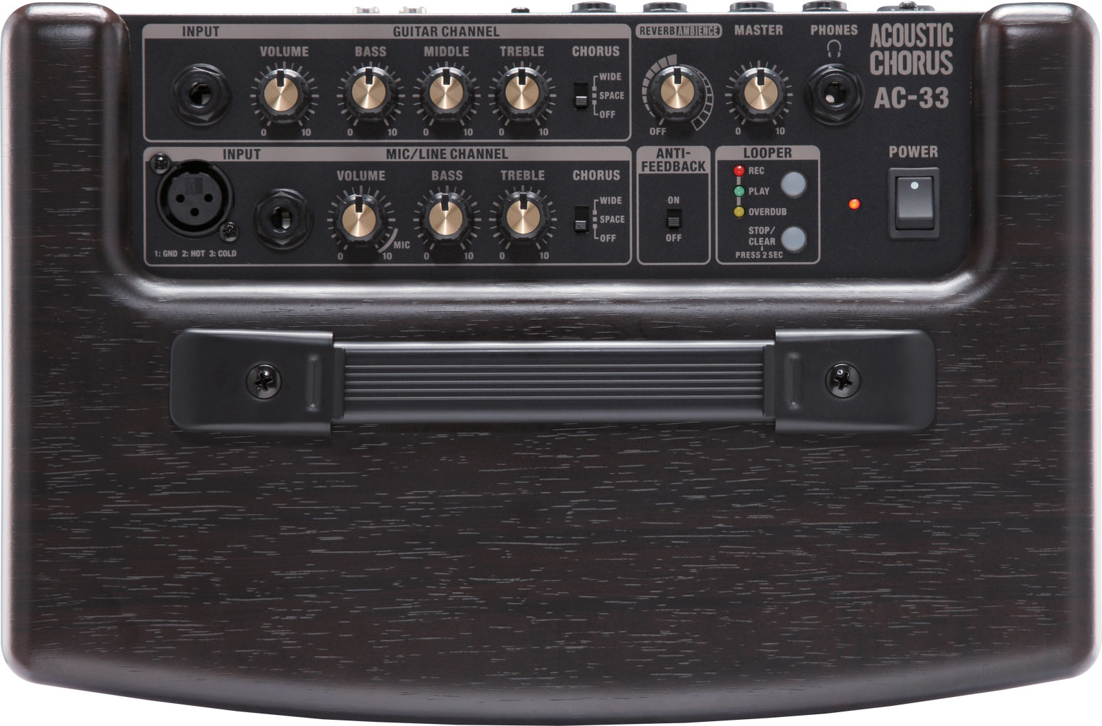 roland ac 33 acoustic chorus guitar amplifier rh roland ca roland a-33 service manual roland a-33 manual pdf