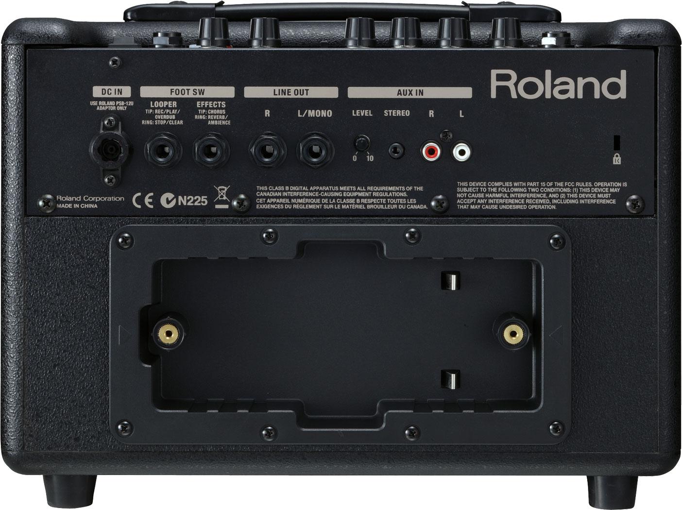 roland ac 33 acoustic chorus guitar amplifier rh roland ca roland ac-33 user manual Roland AC- 60