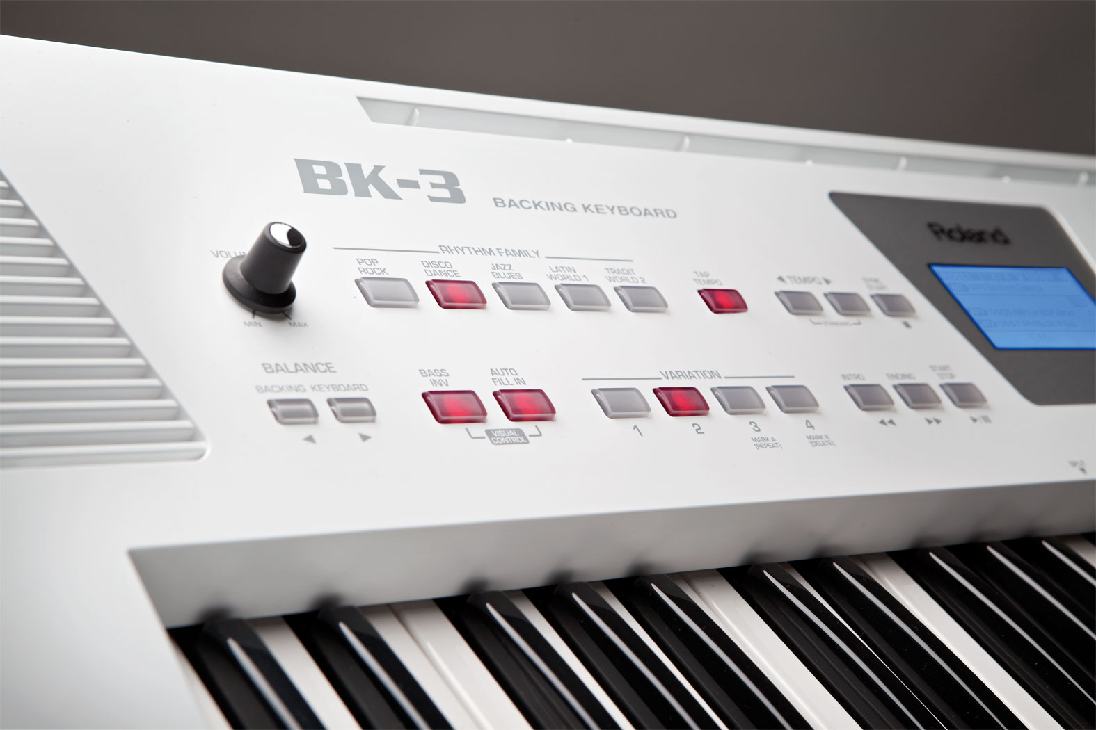 Roland India - BK-3 | Backing Keyboard