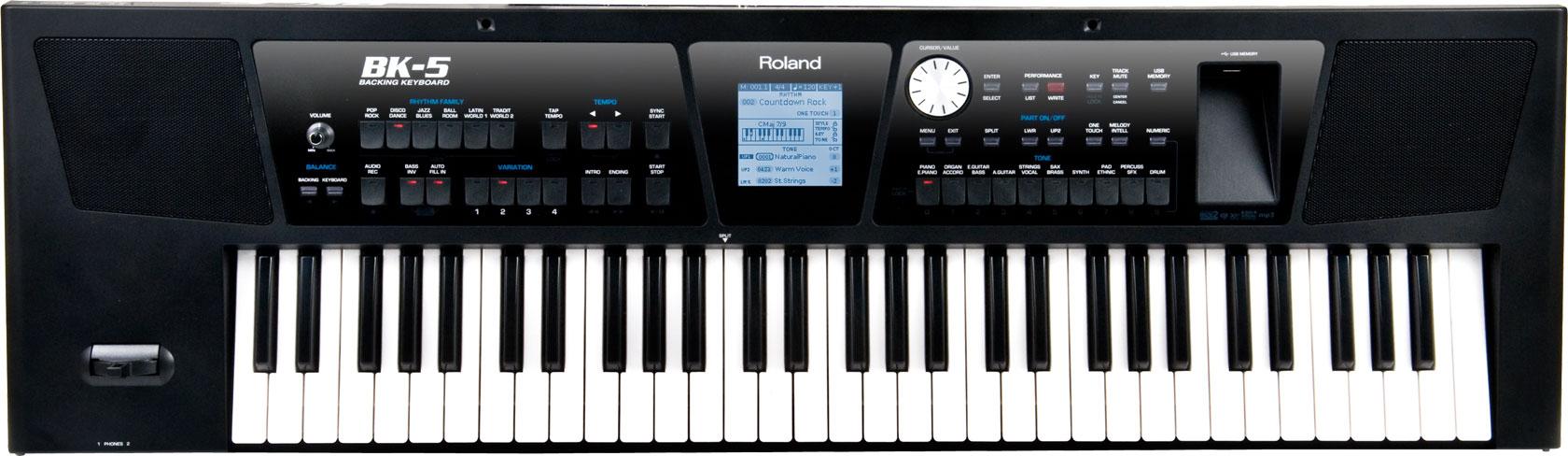 BK-5 | Backing Keyboard - Roland India