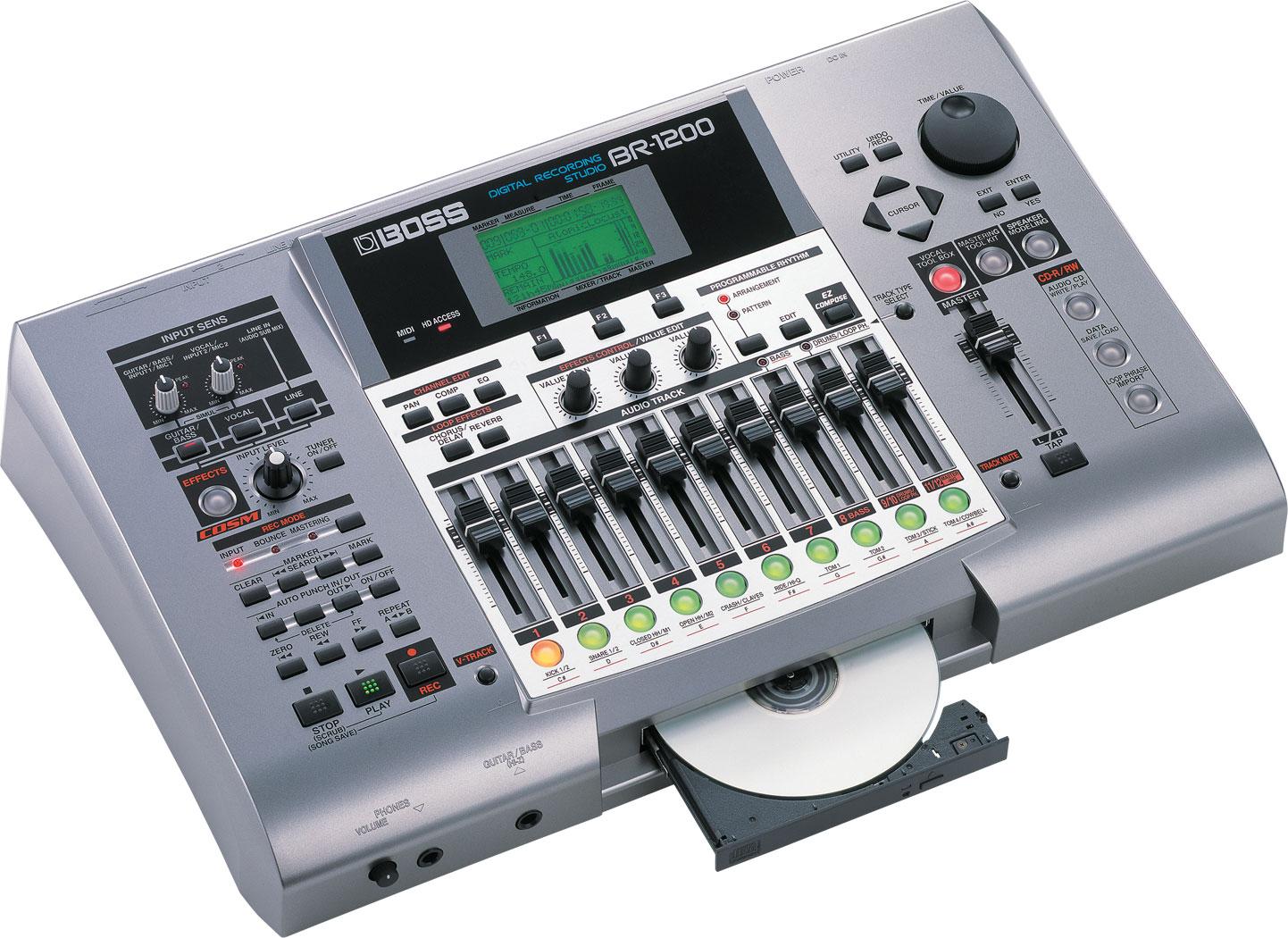 Boss Br 1200cd Digital Recorder