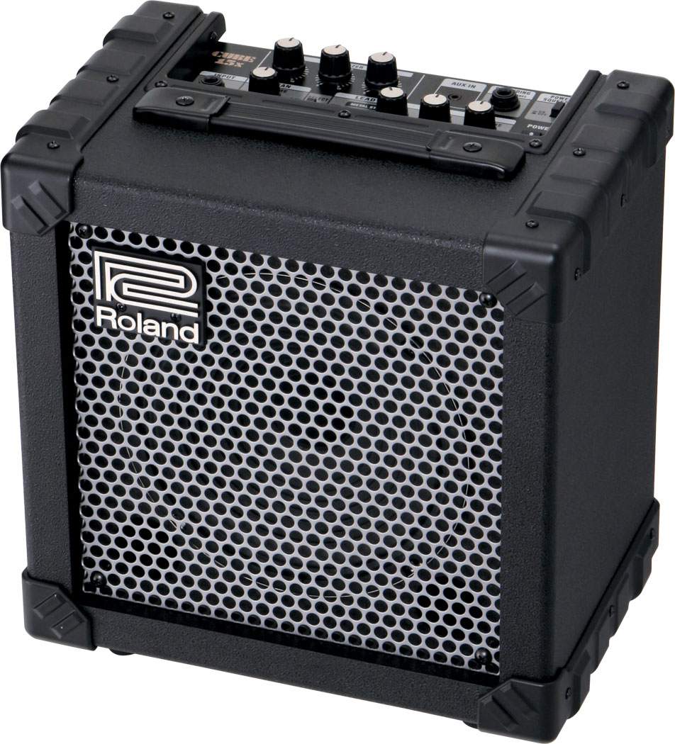 roland cube 15x guitar amplifier. Black Bedroom Furniture Sets. Home Design Ideas