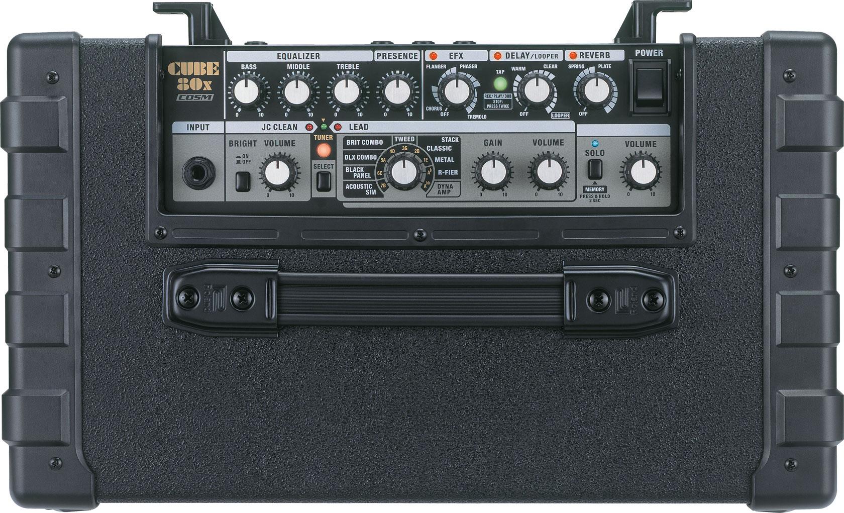 Roland cube 80x guitar amplifier for Beistelltisch 80 x 60