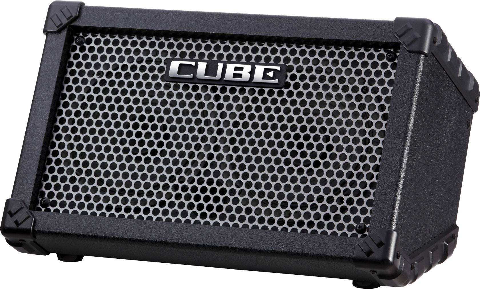 roland cube street battery powered portable amplifier. Black Bedroom Furniture Sets. Home Design Ideas