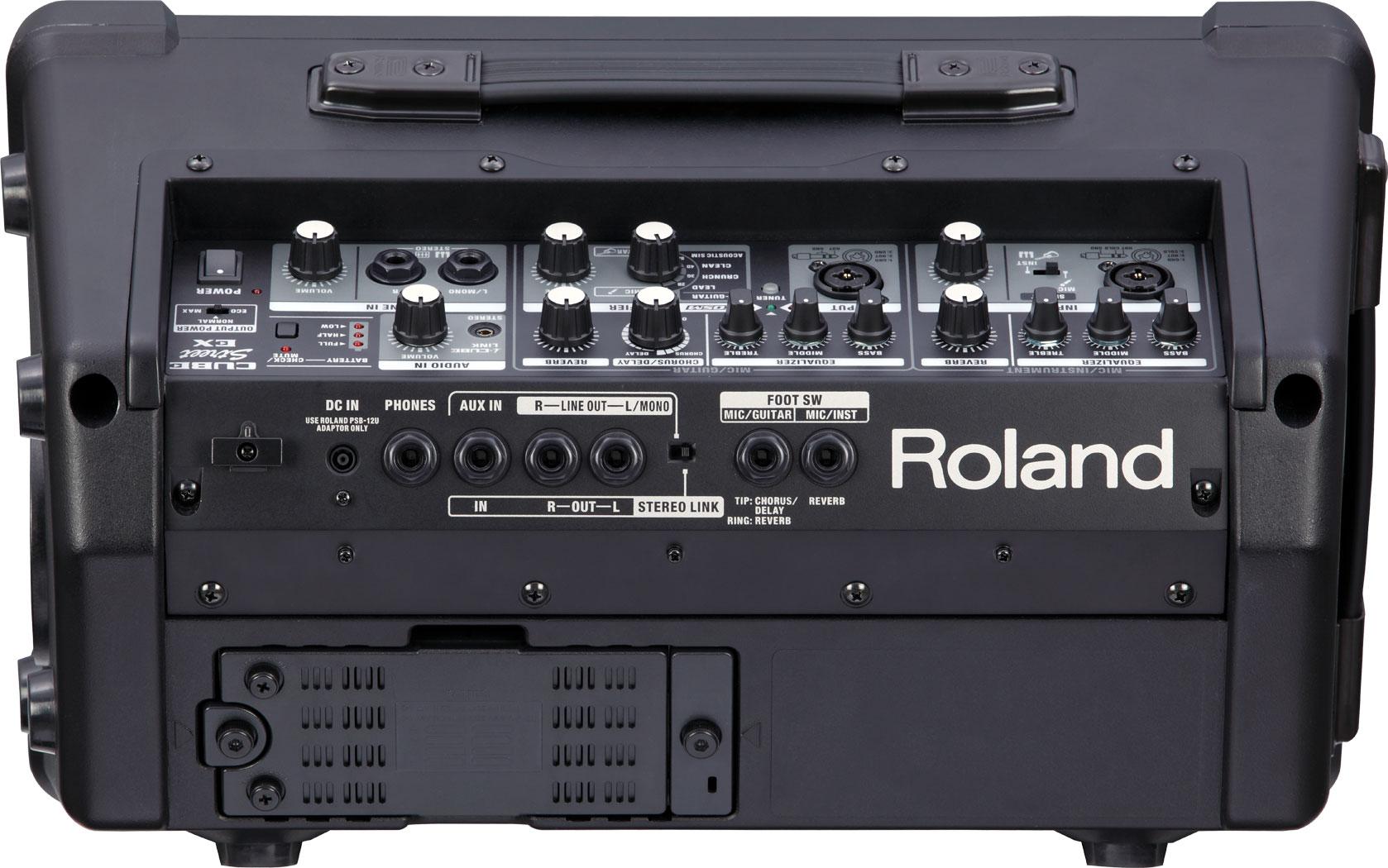 roland cube street ex battery powered stereo amplifier rh roland ca