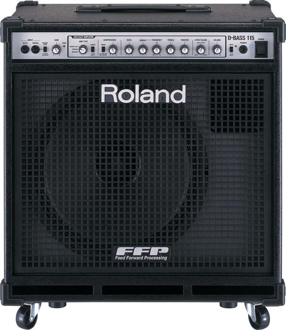 roland d bass 115 d bass amplifier. Black Bedroom Furniture Sets. Home Design Ideas