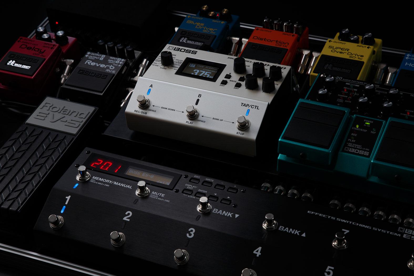 Boss India Dd 500 Digital Delay Circuits Gt 2 Guitar Pedal Schematic Diagram