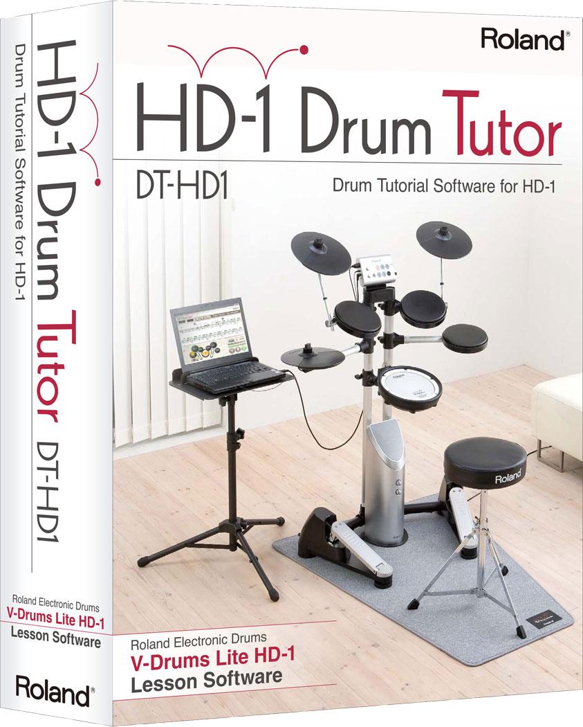Roland hd-1 drum tutor dt-hd1 drivers download update roland.