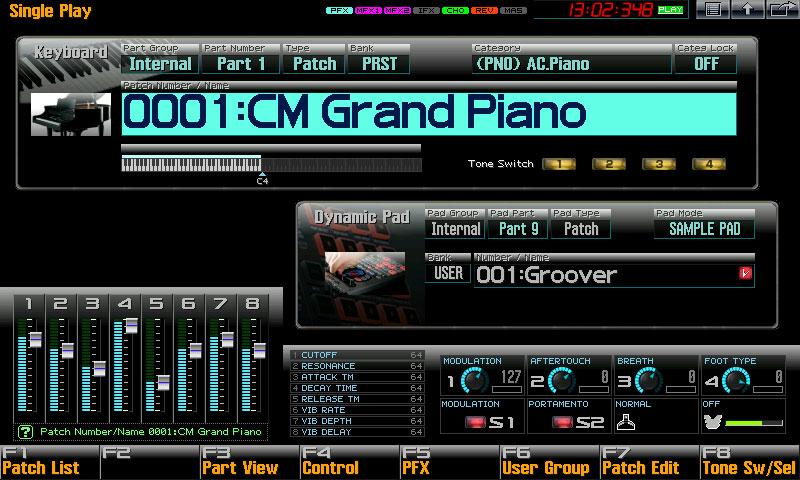 Fantom-G Workstation Keyboard - Roland
