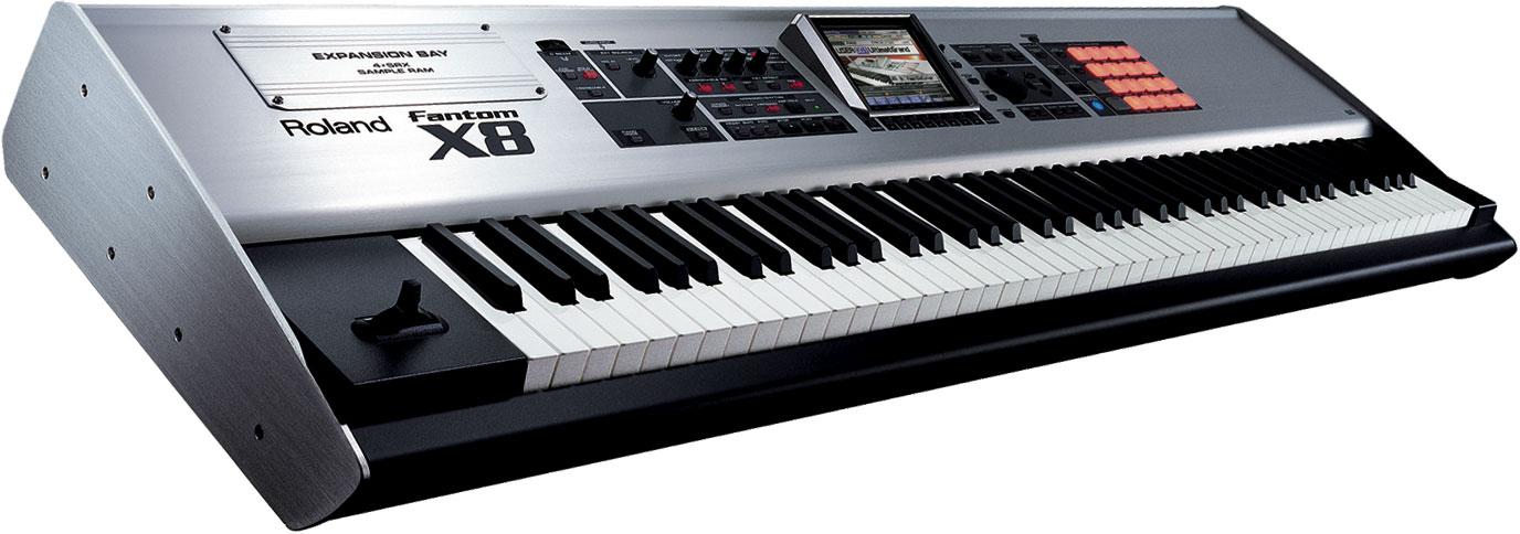 Roland Fantom X8 Workstation Keyboard