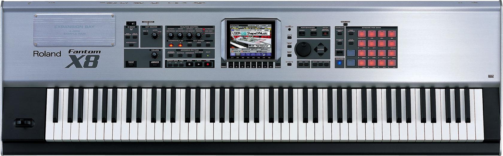 Image Result For Roland Fantom Keyboard