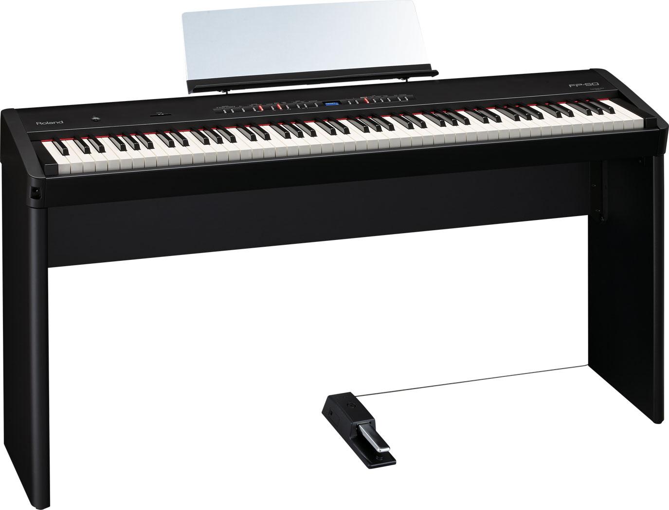 roland fp 50 digital piano. Black Bedroom Furniture Sets. Home Design Ideas