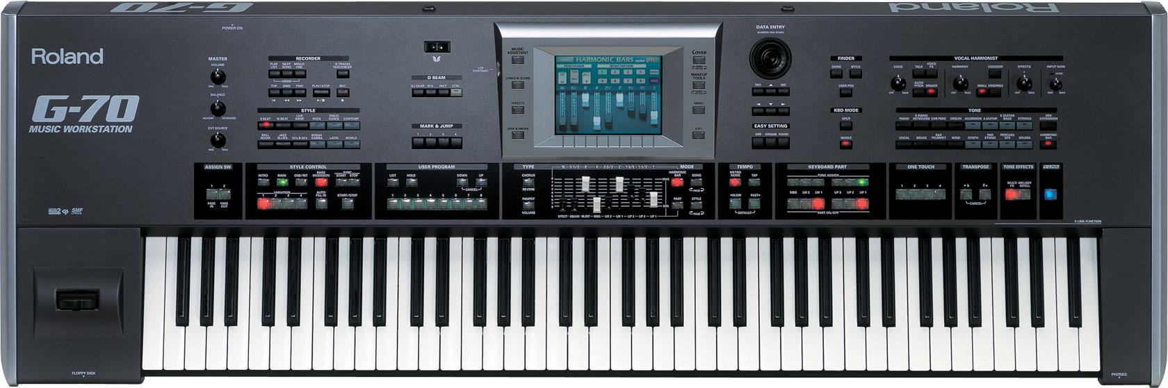 Roland G 70 Music Workstation