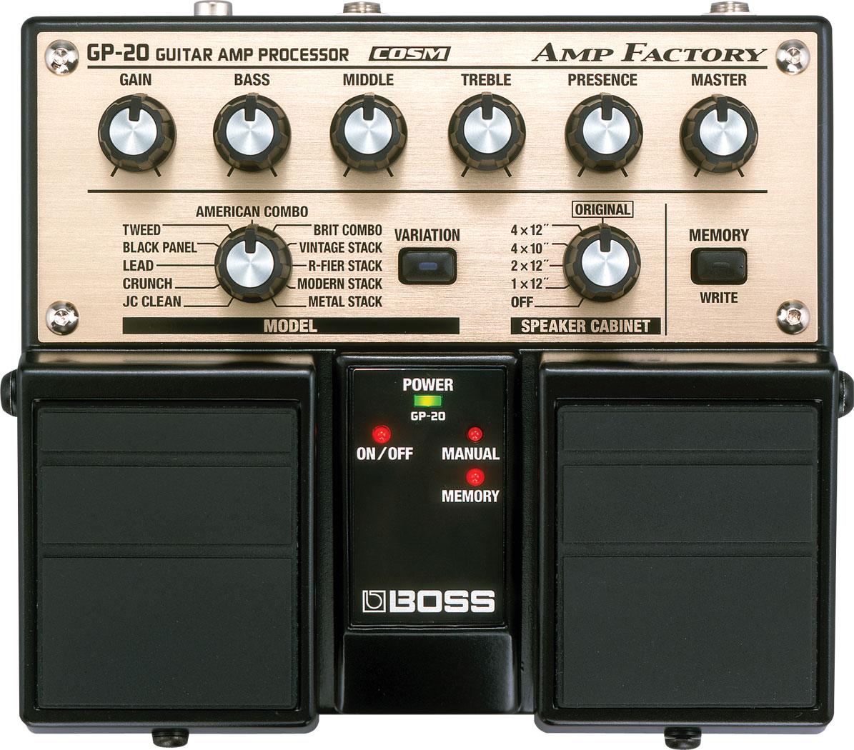 boss gp 20 amp factory. Black Bedroom Furniture Sets. Home Design Ideas