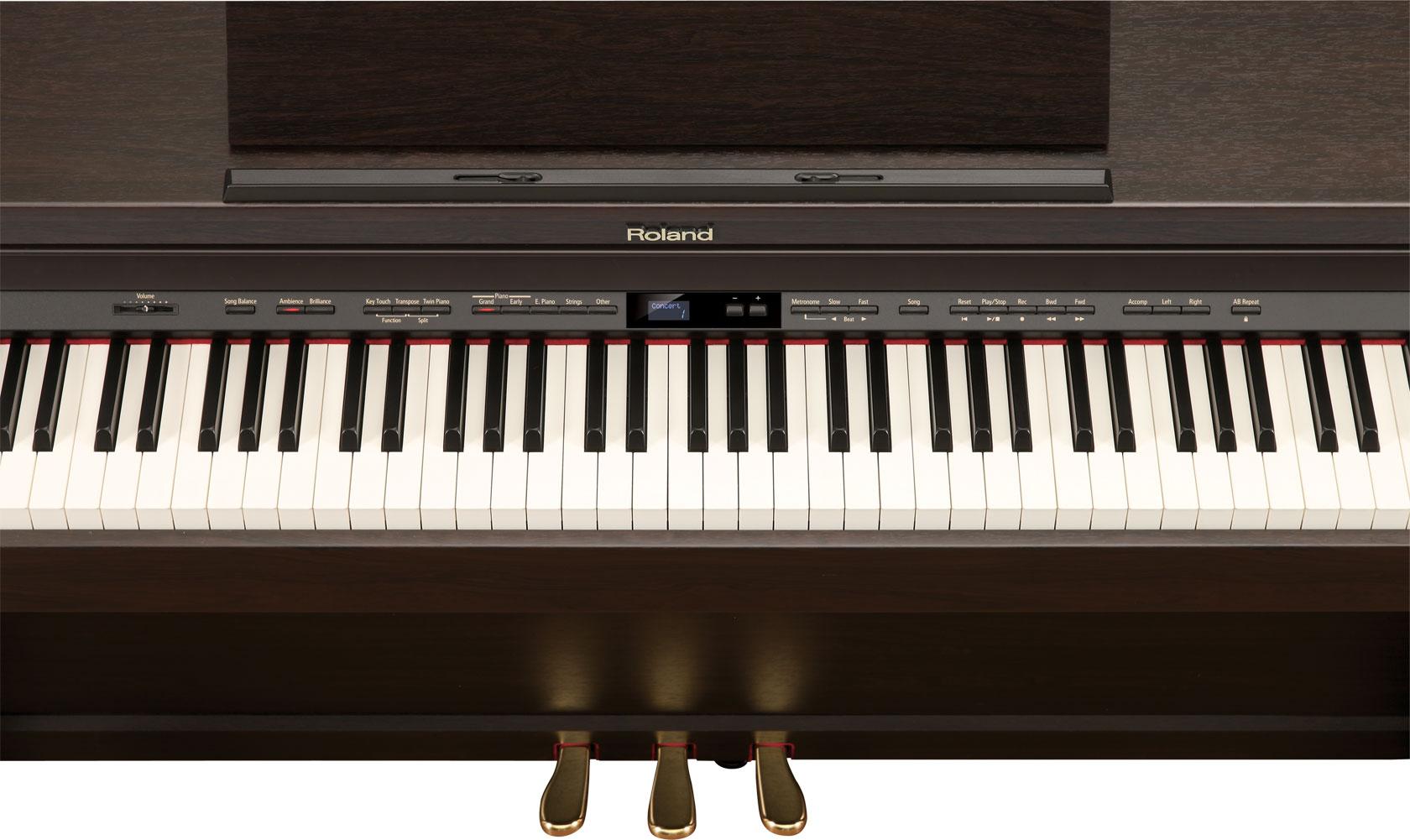 roland hp 503 supernatural piano. Black Bedroom Furniture Sets. Home Design Ideas