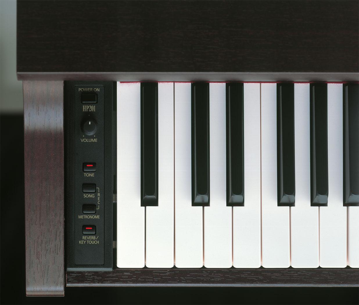 roland hp 201 digital piano. Black Bedroom Furniture Sets. Home Design Ideas