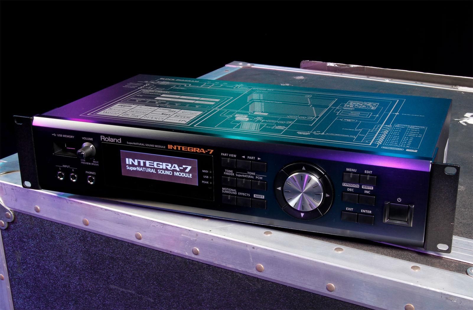 Roland Integra 7 Supernatural Sound Module