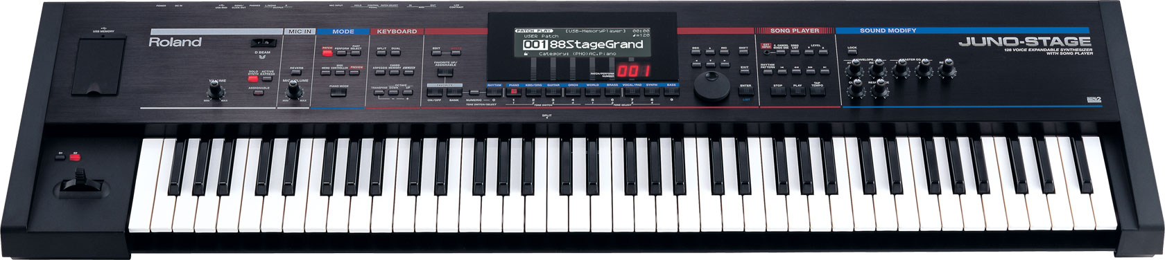 Roland Juno Stage 128 Voice Expandable Synthesizer