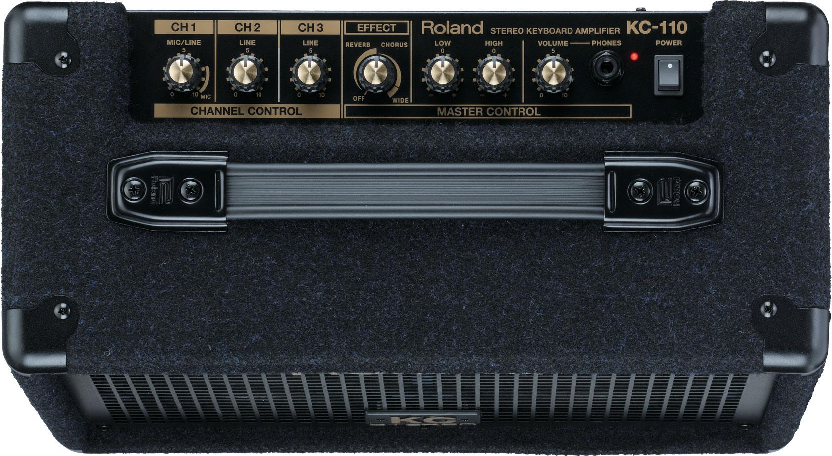 High Amp Battery >> Roland - KC-110 | Stereo Keyboard Amplifier