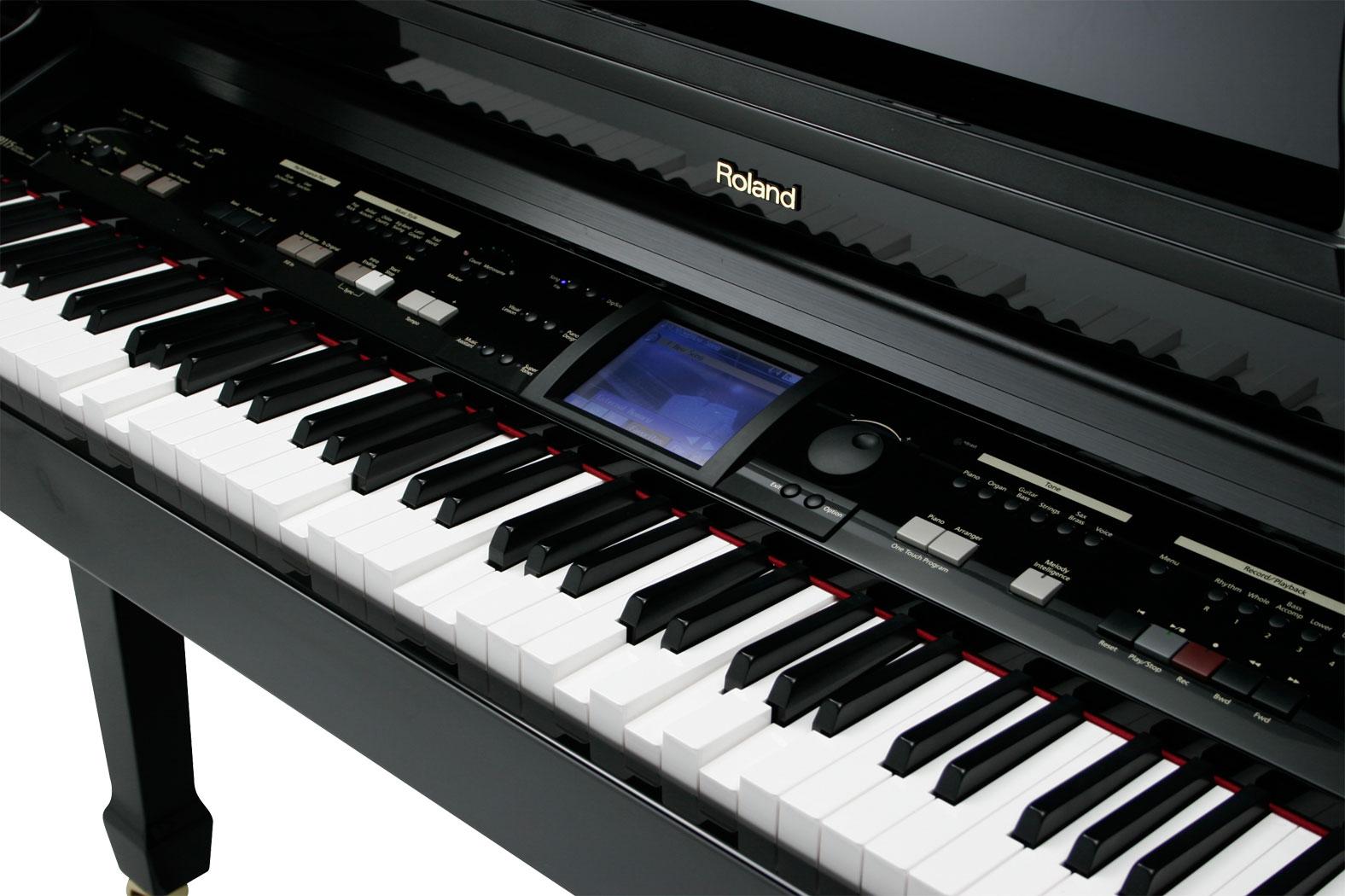 Roland Kr 115m Digital Intelligent Mini Grand Player Piano