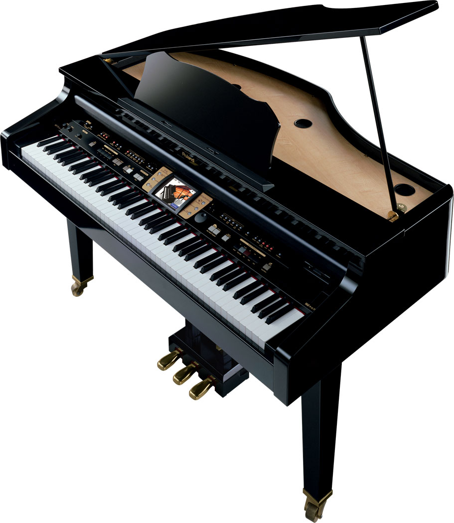 roland kr 15 digital intelligent mini grand piano. Black Bedroom Furniture Sets. Home Design Ideas