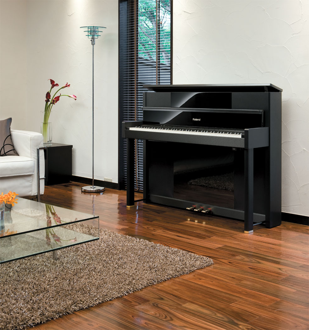 roland lx 10 digital upright grand piano. Black Bedroom Furniture Sets. Home Design Ideas