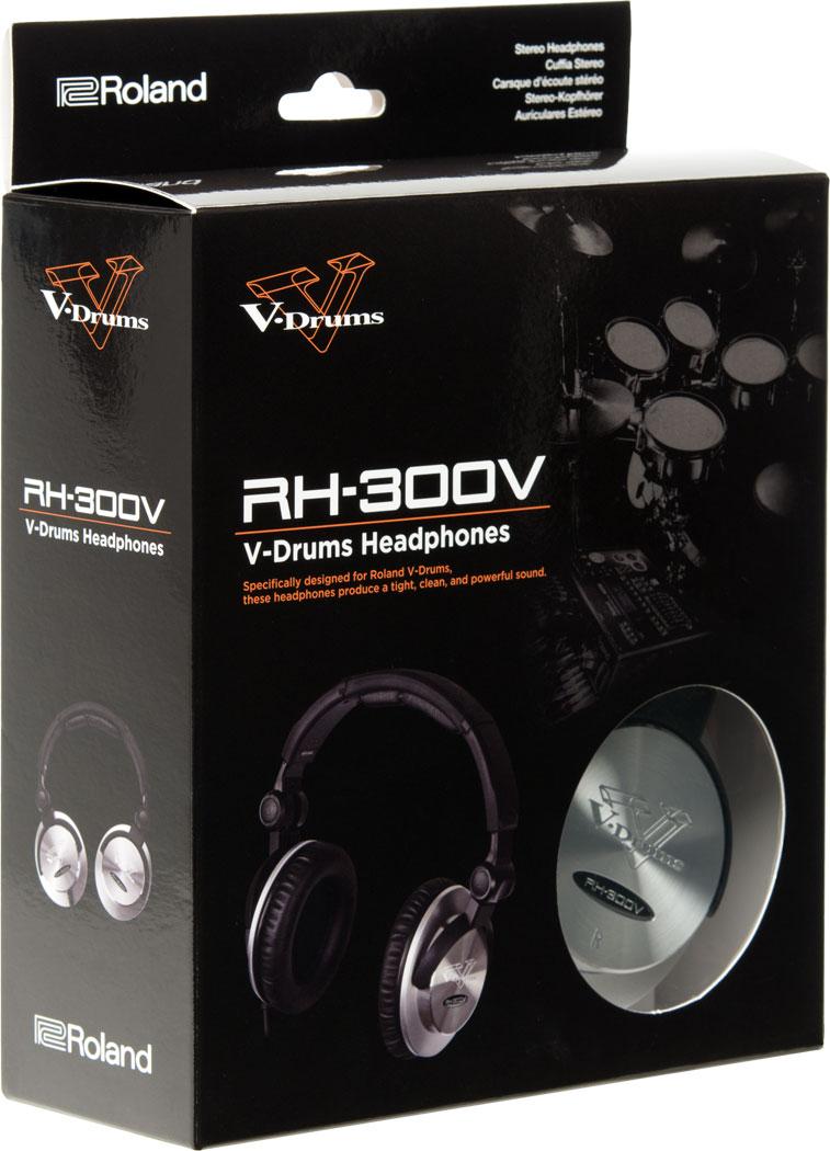 roland rh 300v v drums headphones. Black Bedroom Furniture Sets. Home Design Ideas