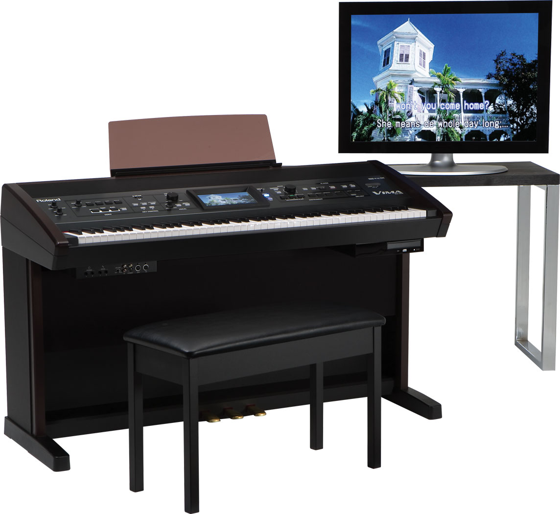 how to connect roland piano to computer mainstage