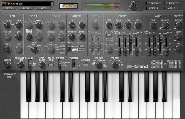 Roland Sh 101 Plug Out Software Synthesizer