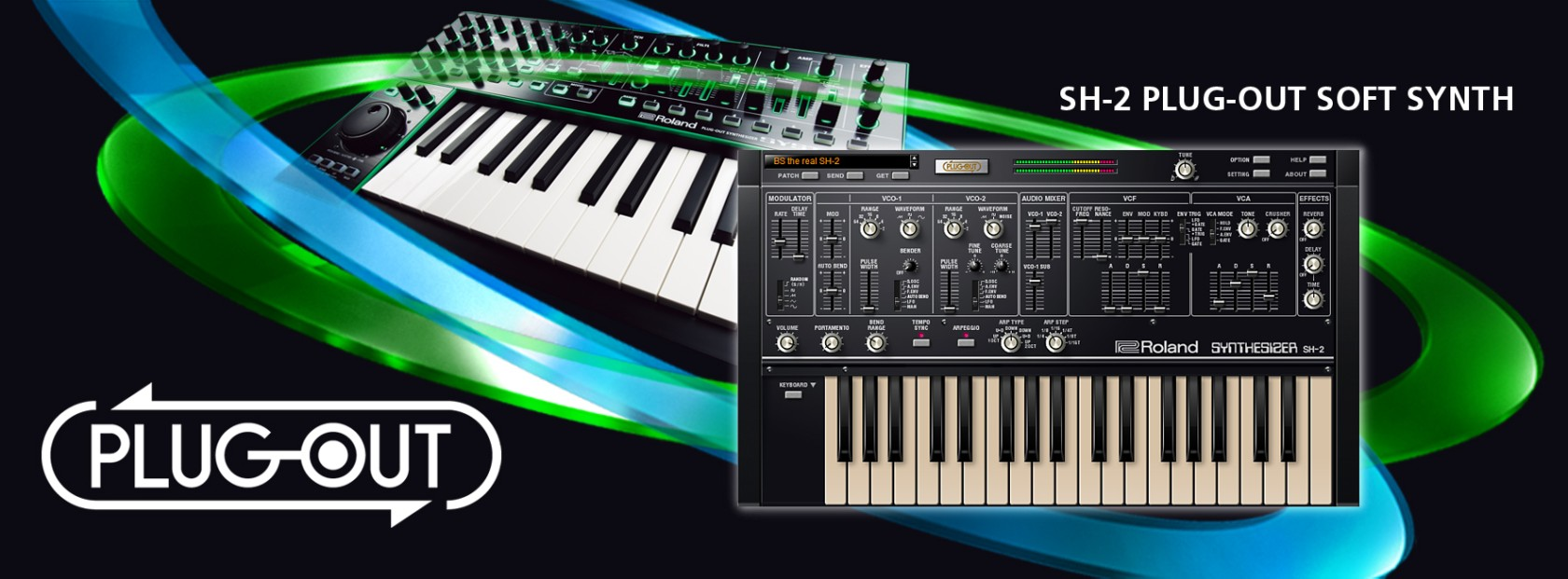Roland Sh 2 Plug Out Software Synthesizer