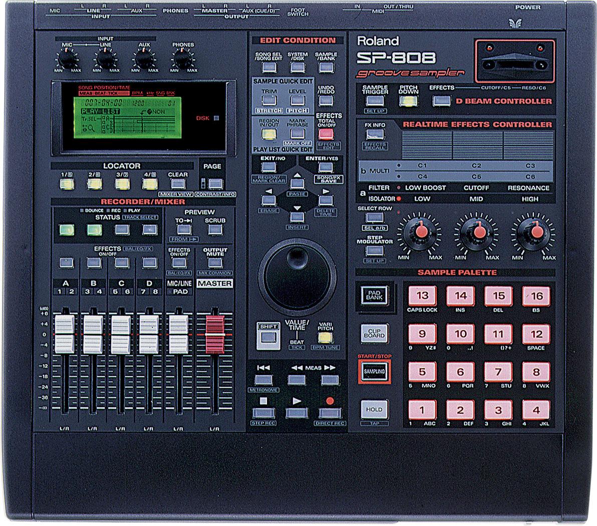 Roland Sp 808 Groove Sampler